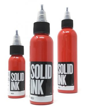 Solid Ink - red 4oz